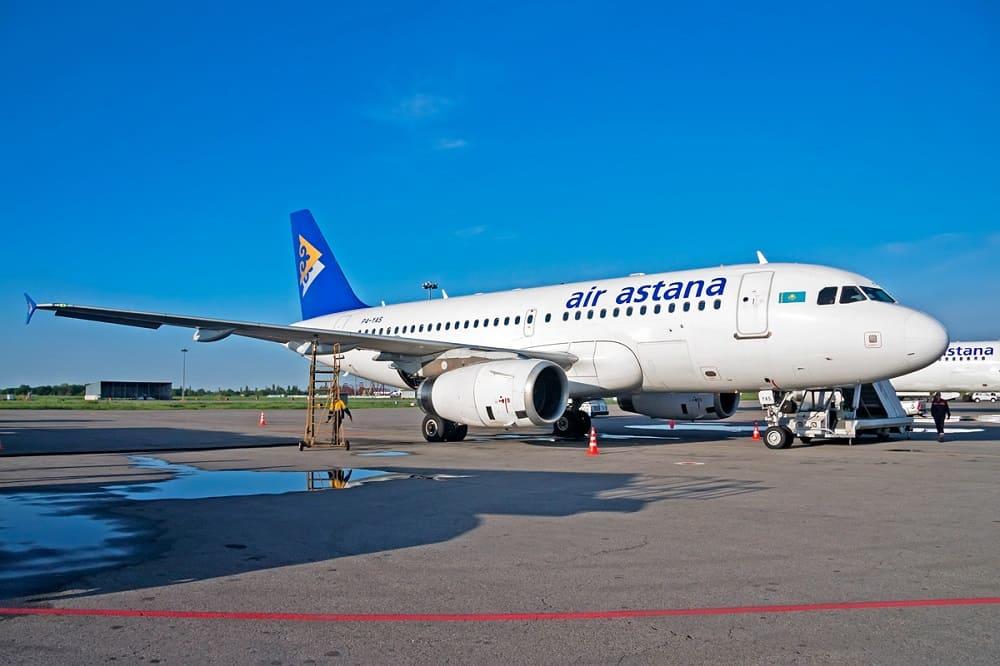 Самолёт Эйр Астана