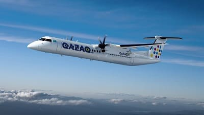 Самолет Qazaq Air