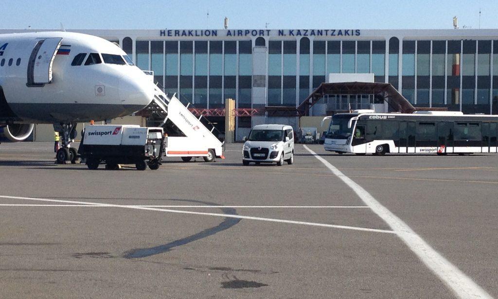 Аэропорт Ираклиона - основной на Крите