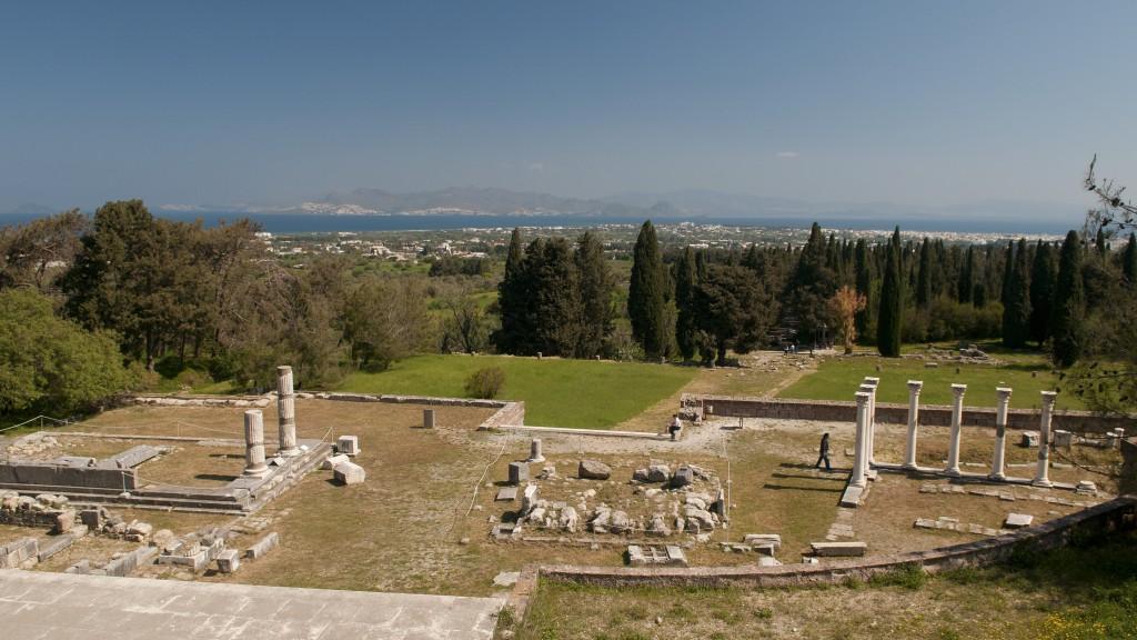 Древний центр врачевания Асклепия Кос