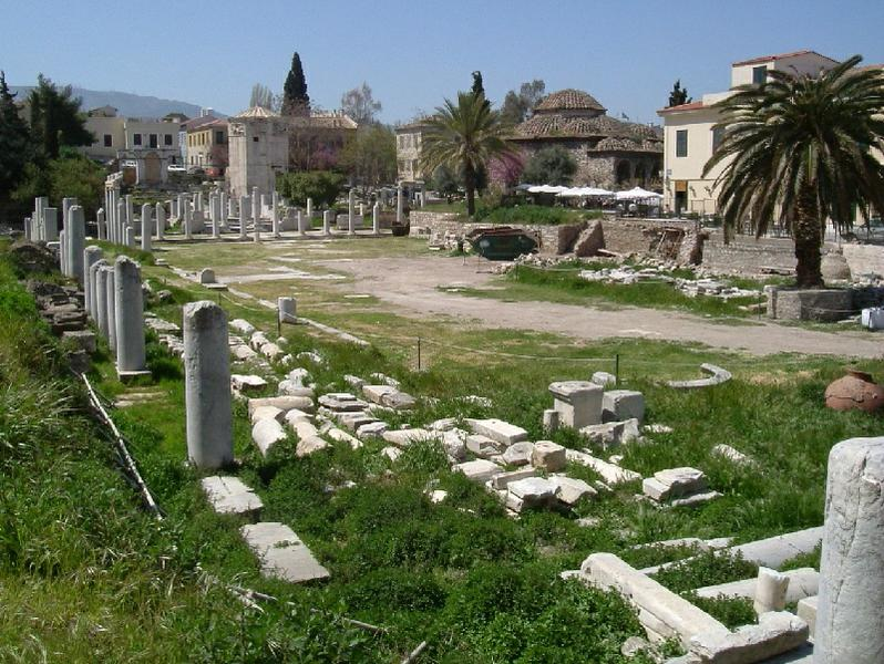 Древняя Площадь Кос агора Греция