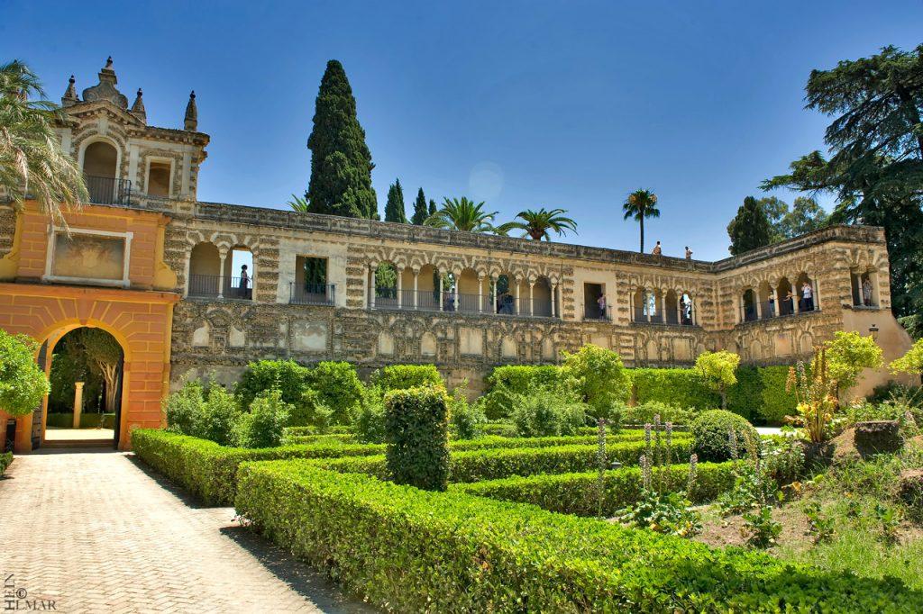 Дворец Алькасар Севилья достопримечательности Испания