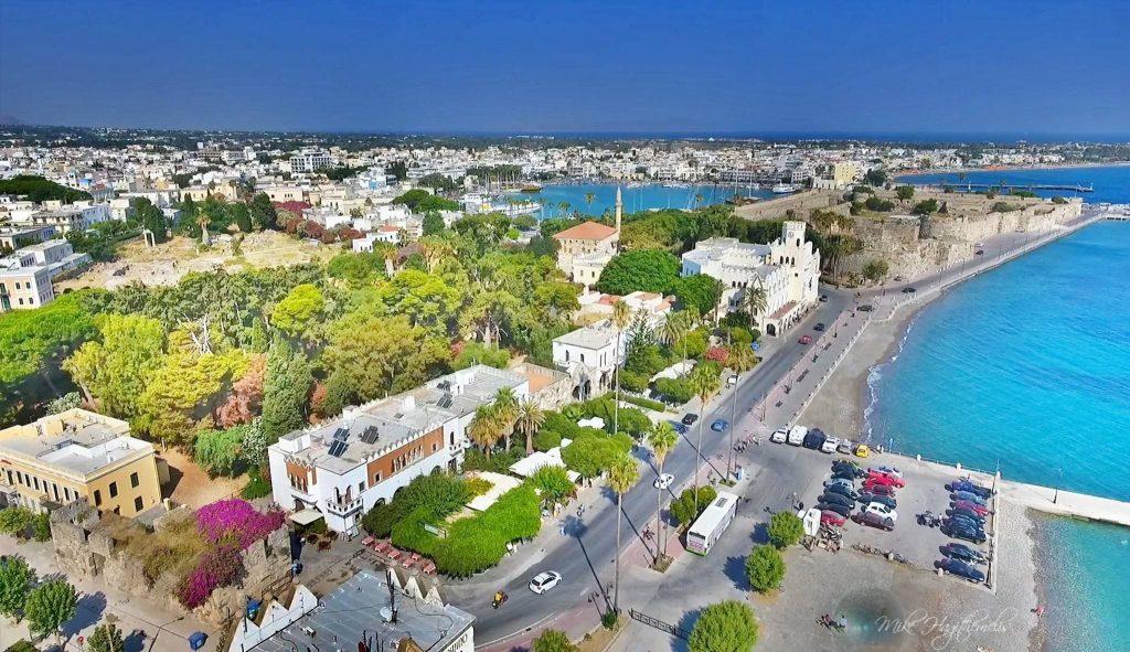 Кос остров город красивые фото