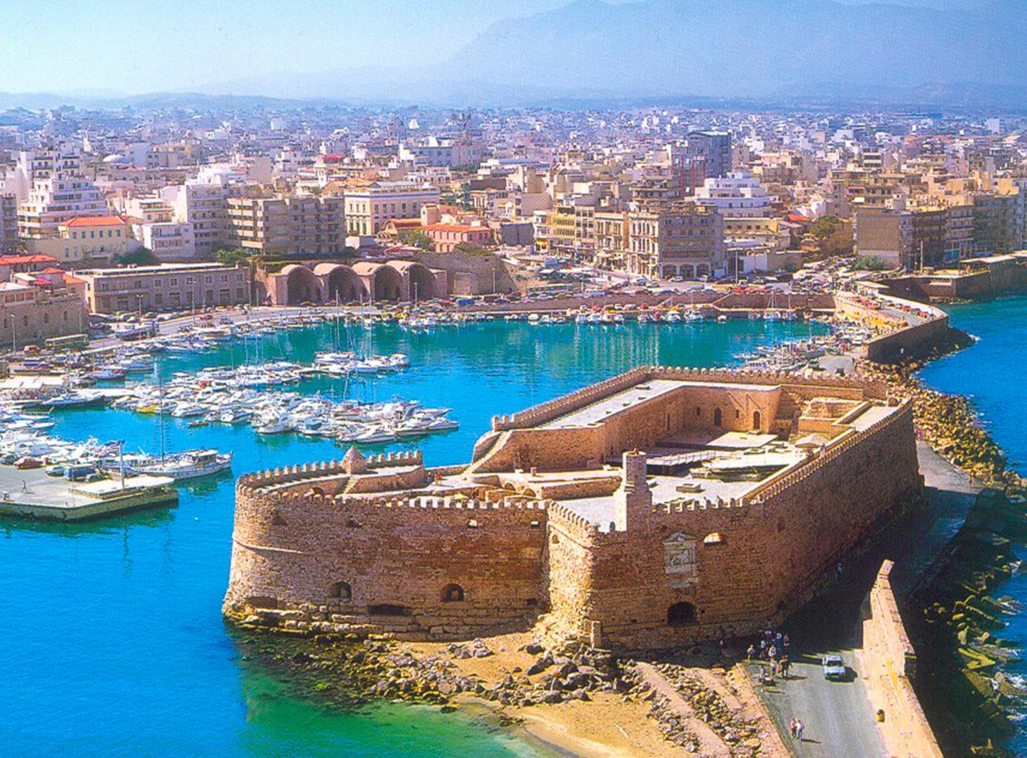 Ираклион город крепость история