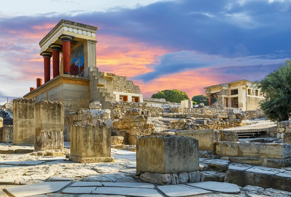 Кносский дворец достопримечательности Ираклион