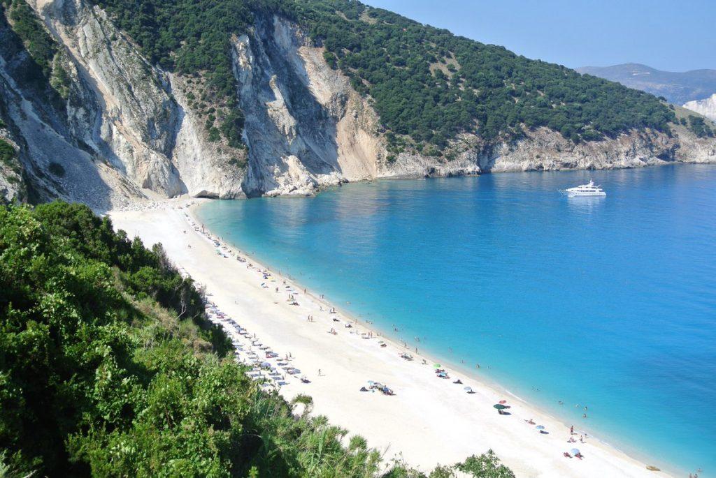Миртос - лучший пляж Кефалонии