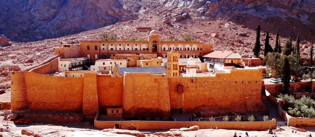 Монастырь св. Екатерины на Синае
