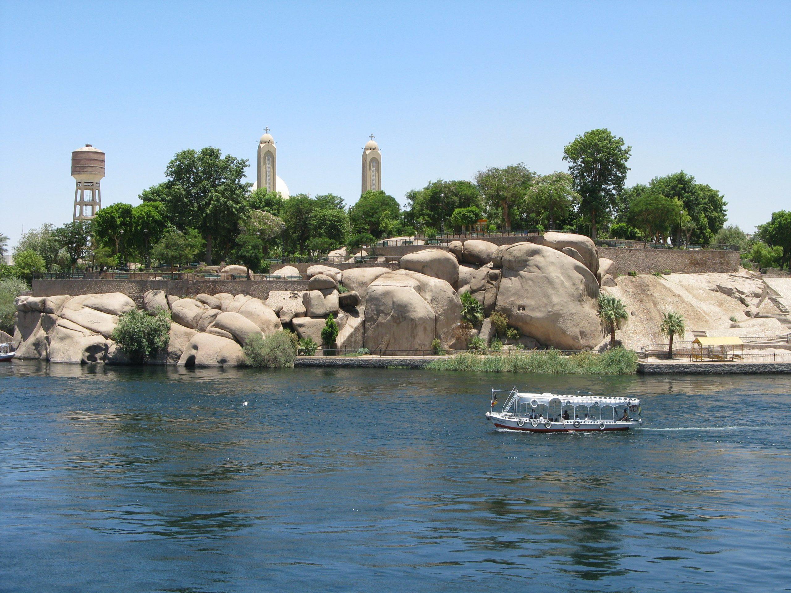 Асуан Остров Элефантина Виды Египет