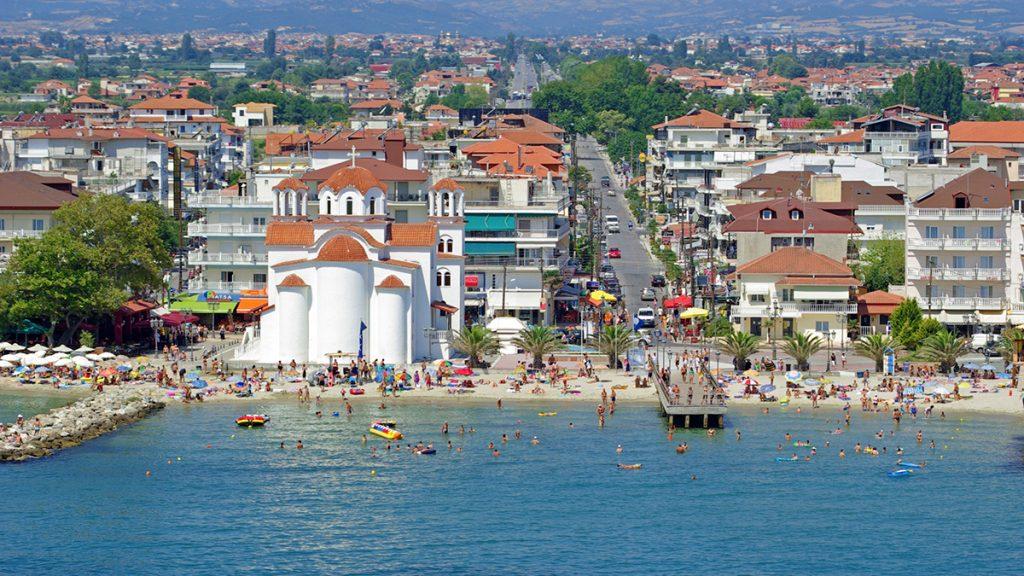 Паралия Катерини Греция отдых пляж лето