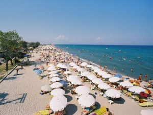Пляж Паралия Катерини