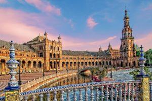 Площадь Испании Севилья