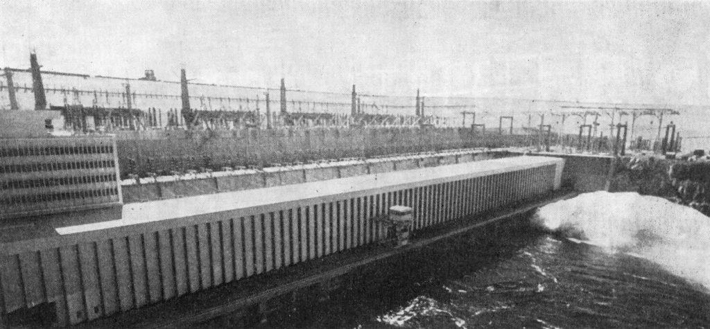 Асуанская плотина открытие историческое фото