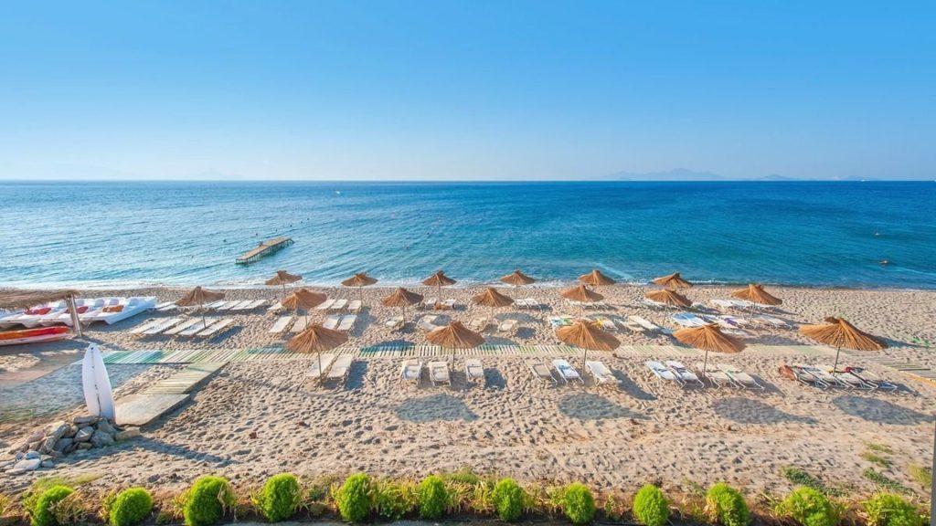 Пляж Кардамена - один из лучших на Косе