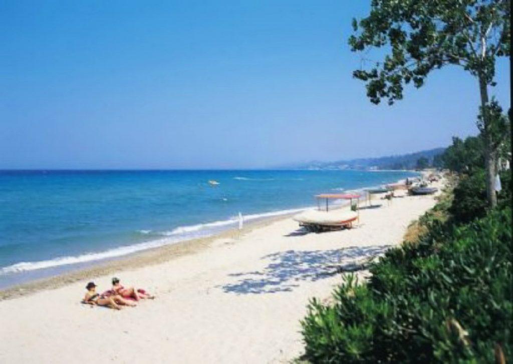 Пляж Криопи Кассандра Греция
