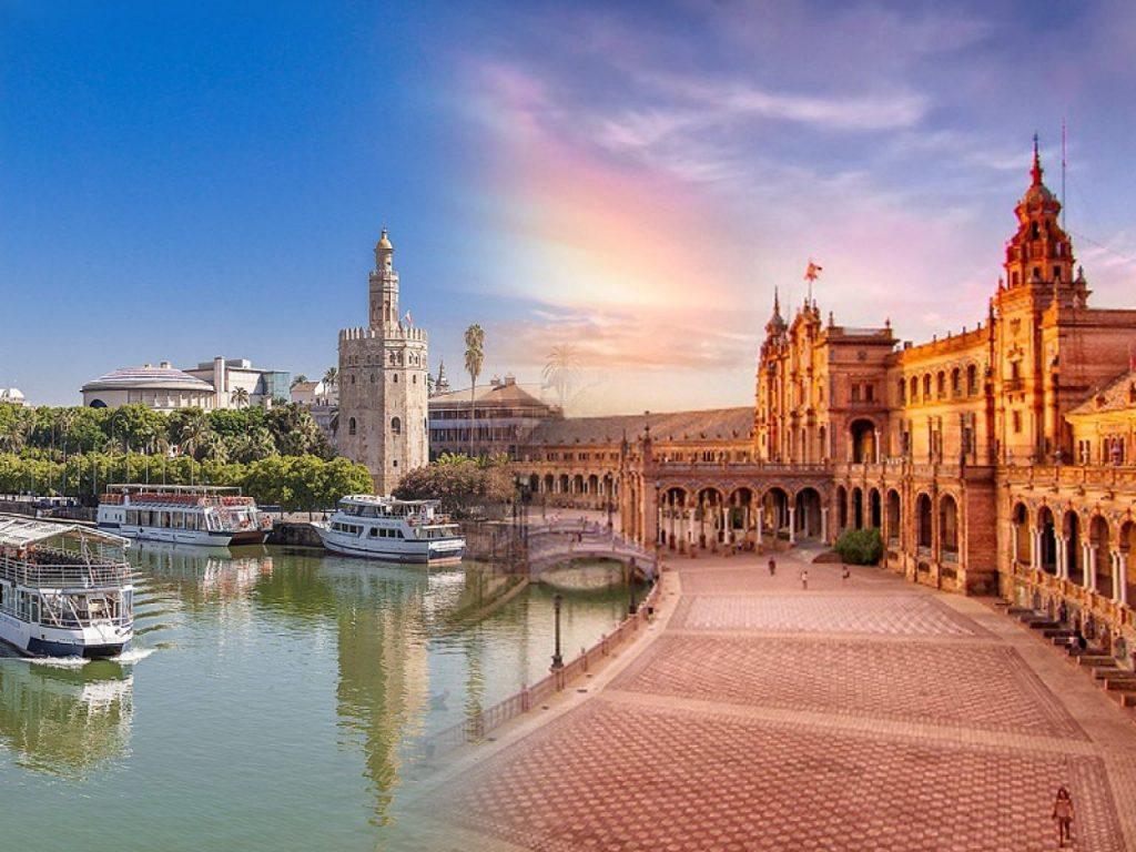 Севилья - один из самых крупных городов Испании