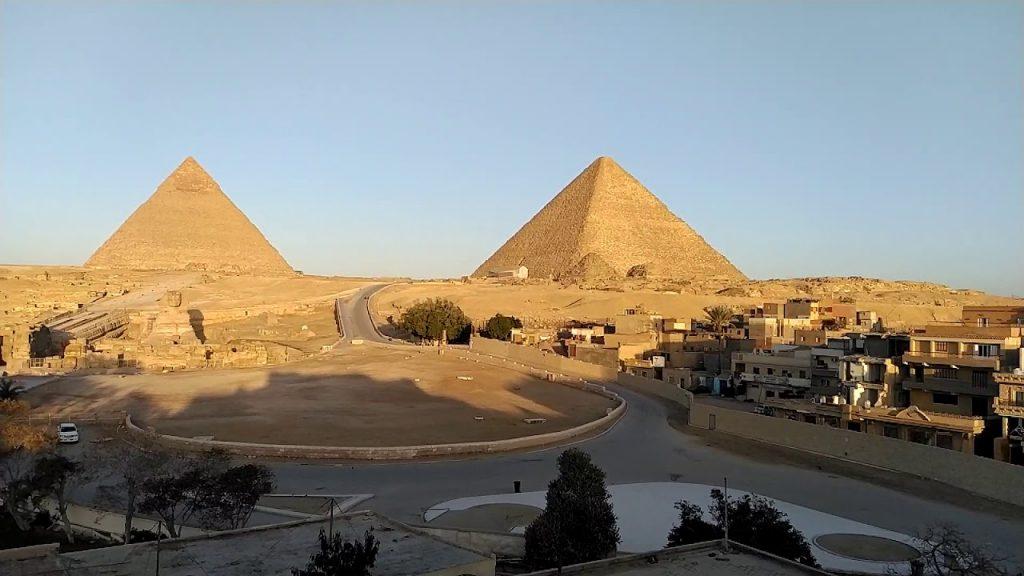 В марте погода в Египте