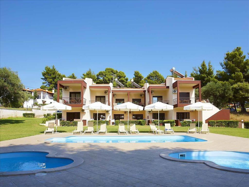 Villa Bella Maria Греция Ситония отели бассейн