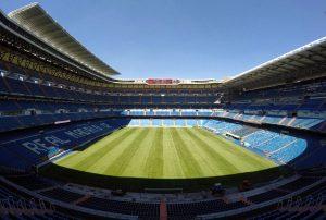 Сантьяго Бернабеу Реал Мадрид домашний стадион сколько вмещает