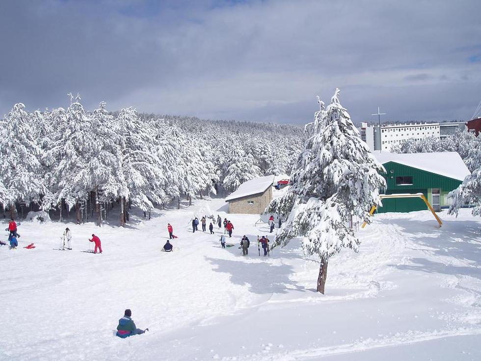 Мансанеда Испания горные лыжи