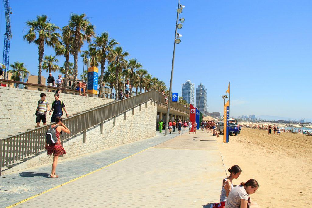 Пляж Мар Белла Испания