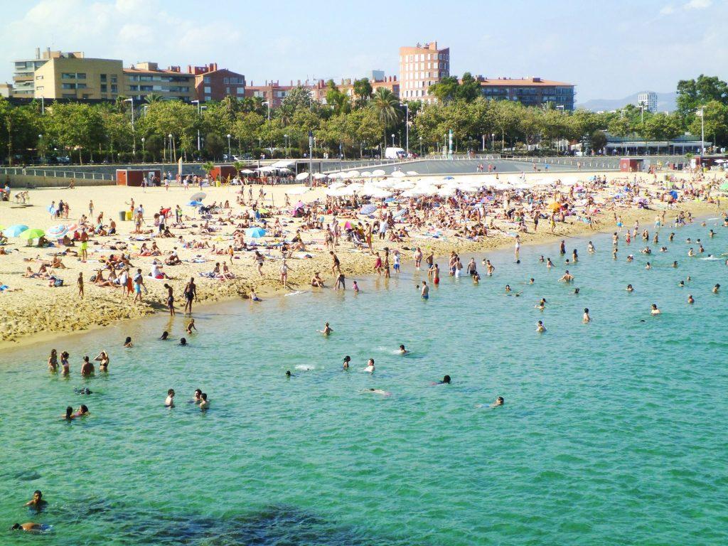 Пляж Нова Икария Барселона