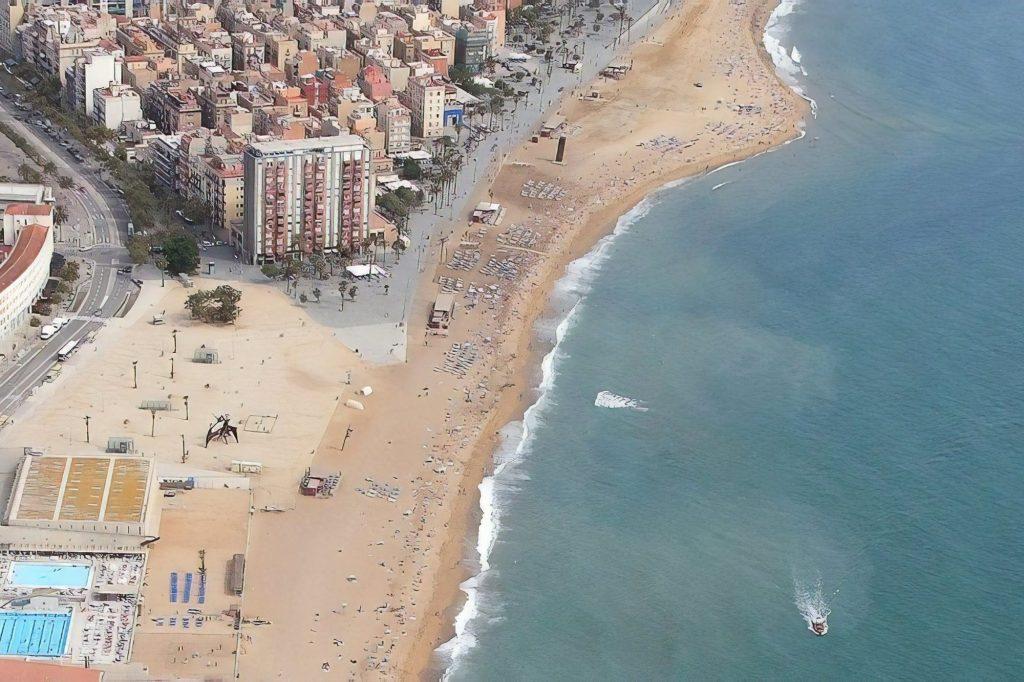 Пляж Сан Микель Испания