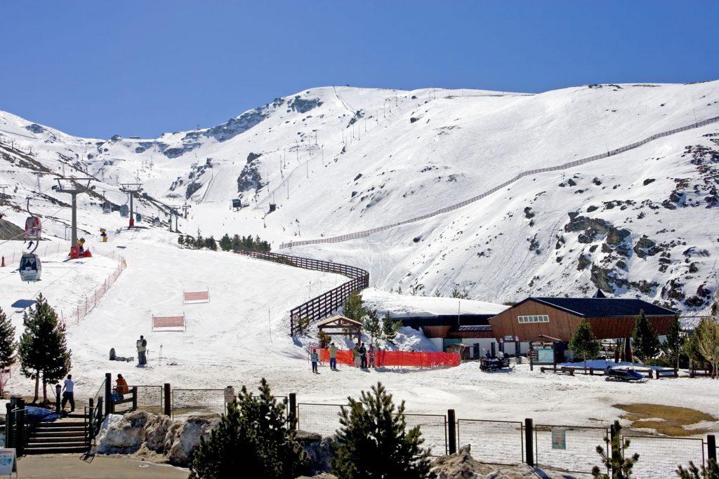 Сьерра-Невада Испания горные лыжи