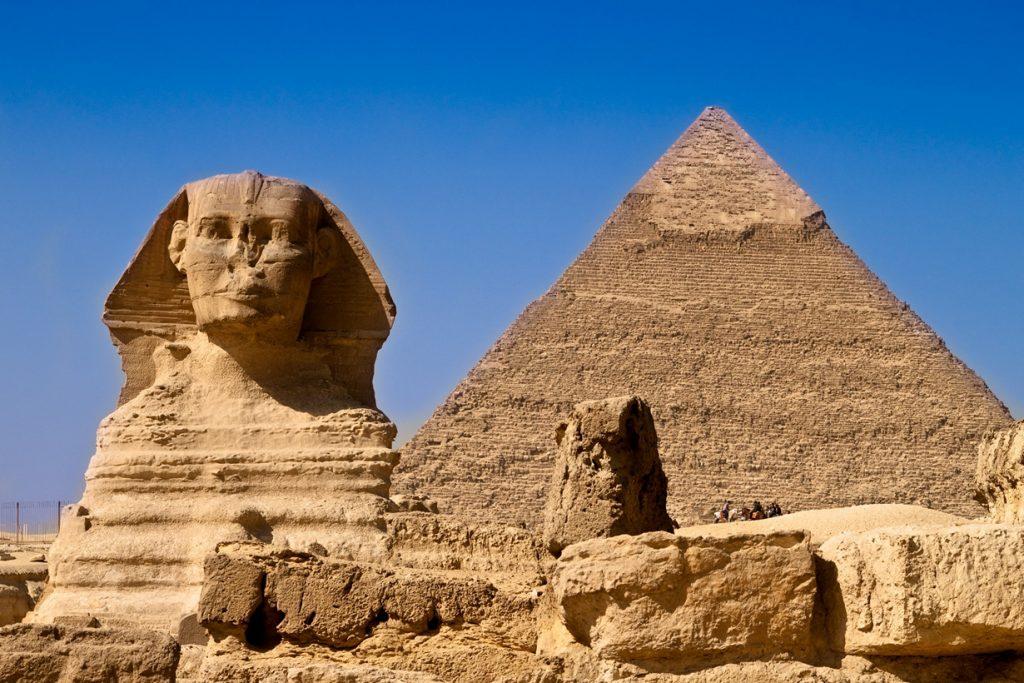 Сфинкс пирамида Египет достопримечательности