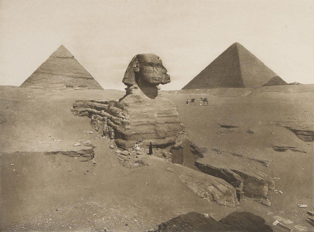Сфинкс историческое фото