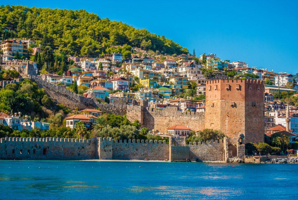 Алания курорт Турция море