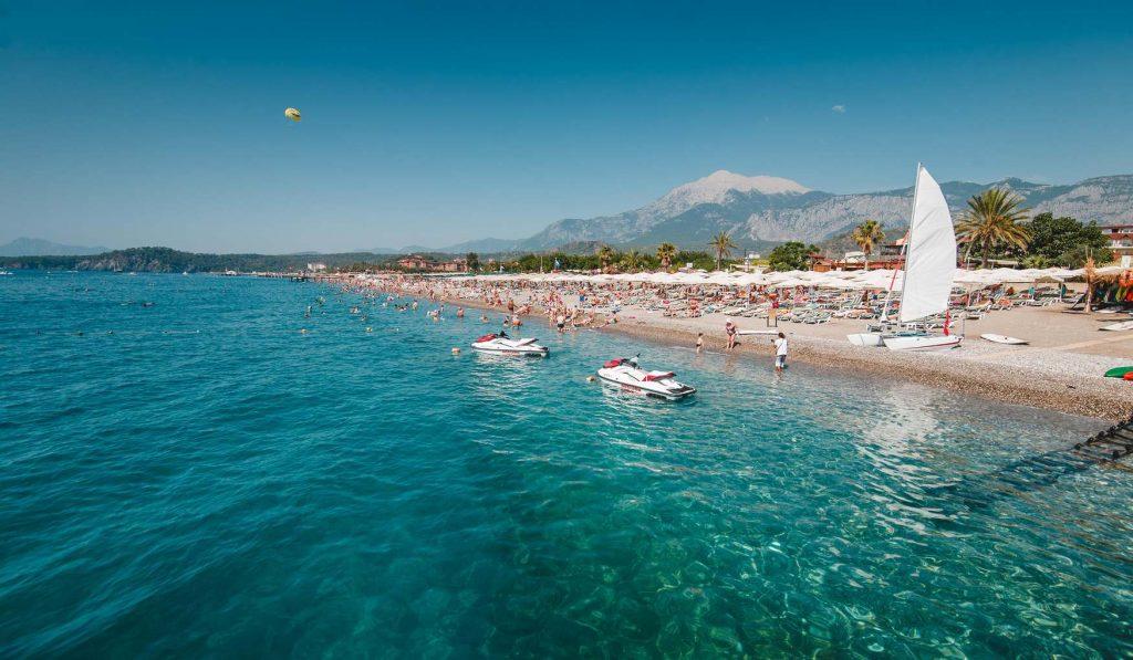 Пляж Чамьюва Кемер Турция