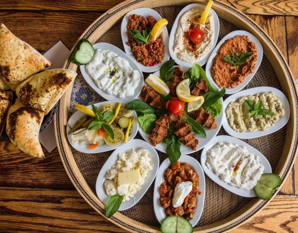 Турция мезе национальная еда