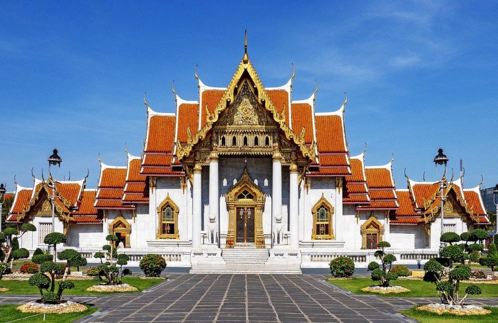 Бангкок Мраморный храм