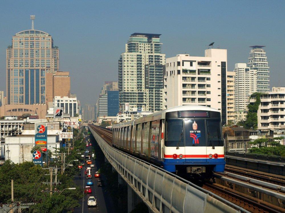 Метро Бангкок виды