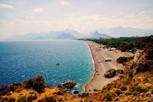 Пляжи Анталии Турция песчаные