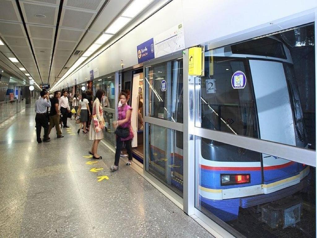 Подземная линия метро Бангкок