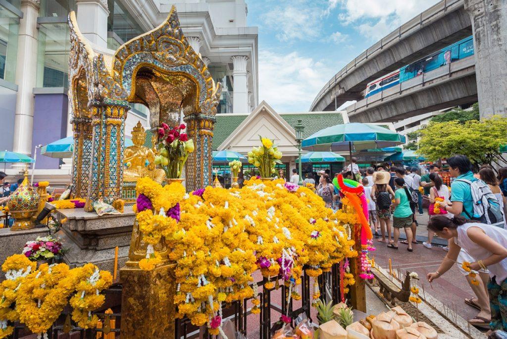 Бангкок Святыня Эраван