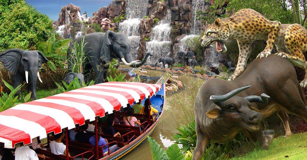 Аквапарк Бангкок сектор Africa Adventure