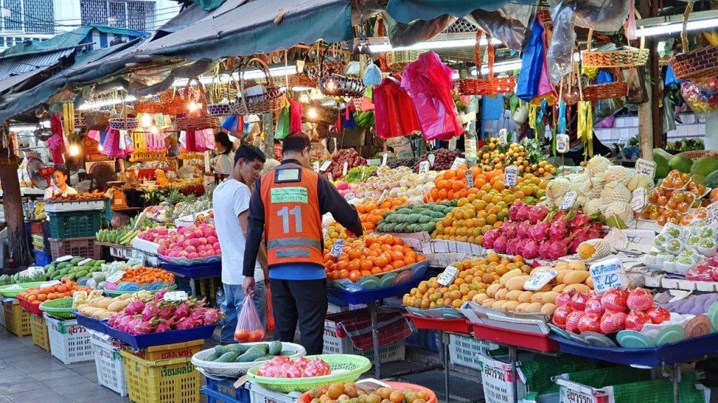 Huay Kwang Market Бангкок