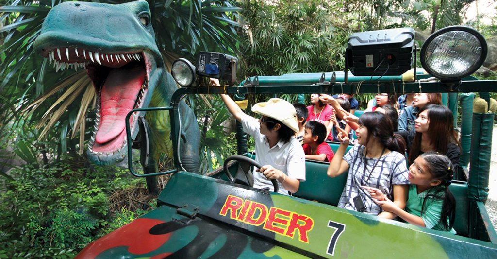 Аквапарк Бангкок сектор Jurassic Adventure