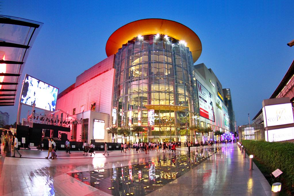 Siam Paragon Бангкок торговый центр