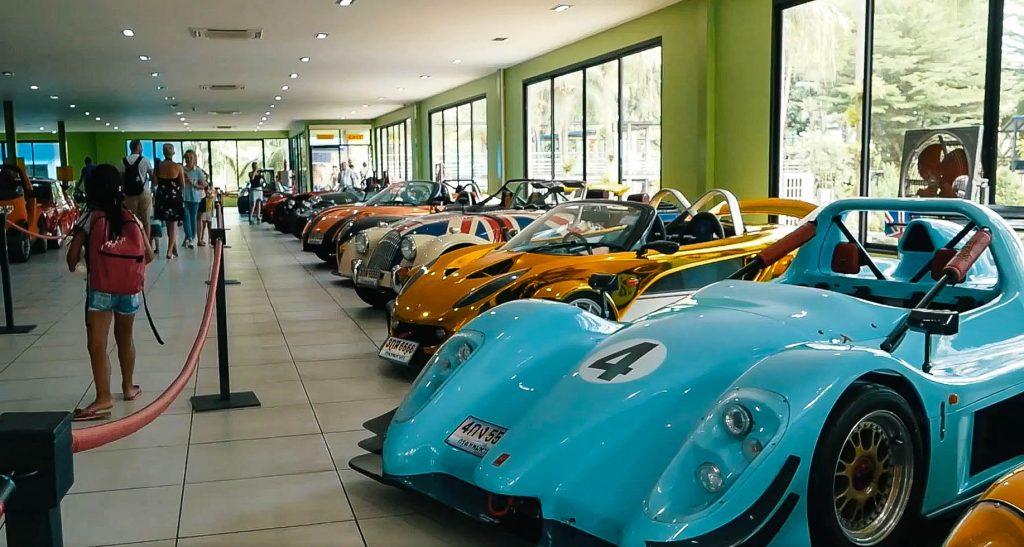 Коллекция автомобилей в Нонг Нуч