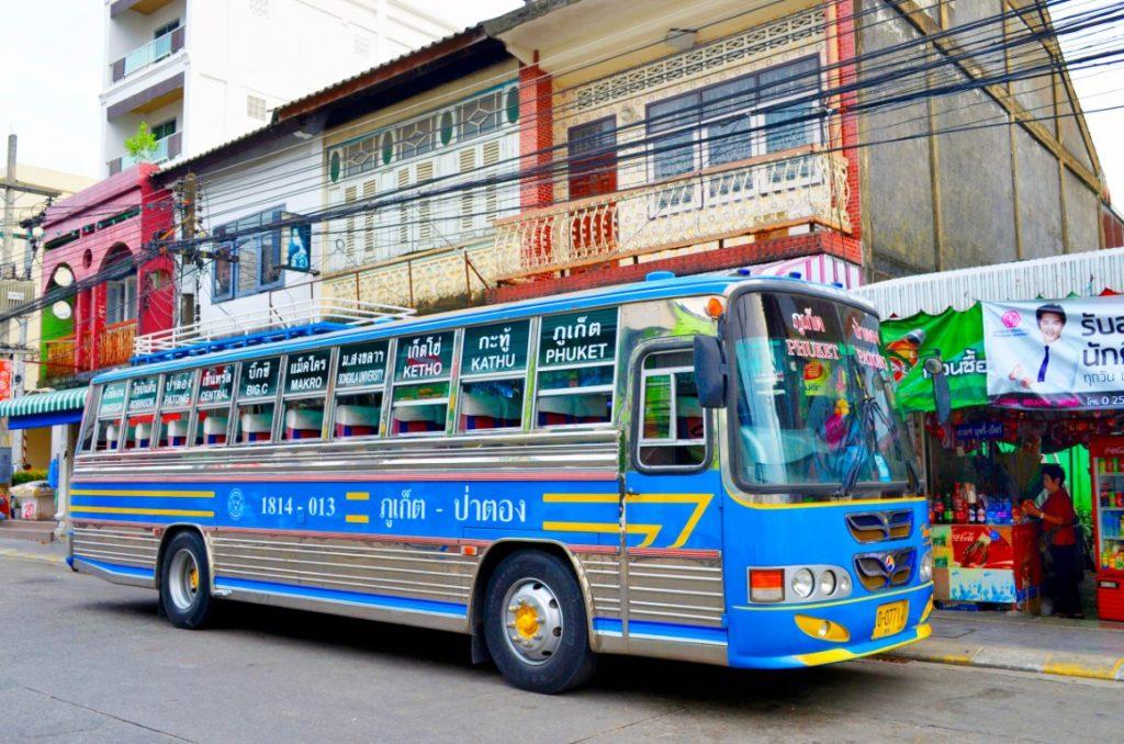 Камала Бич автобус