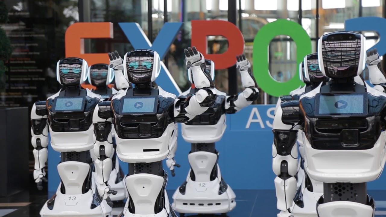 Роботы expo 2017