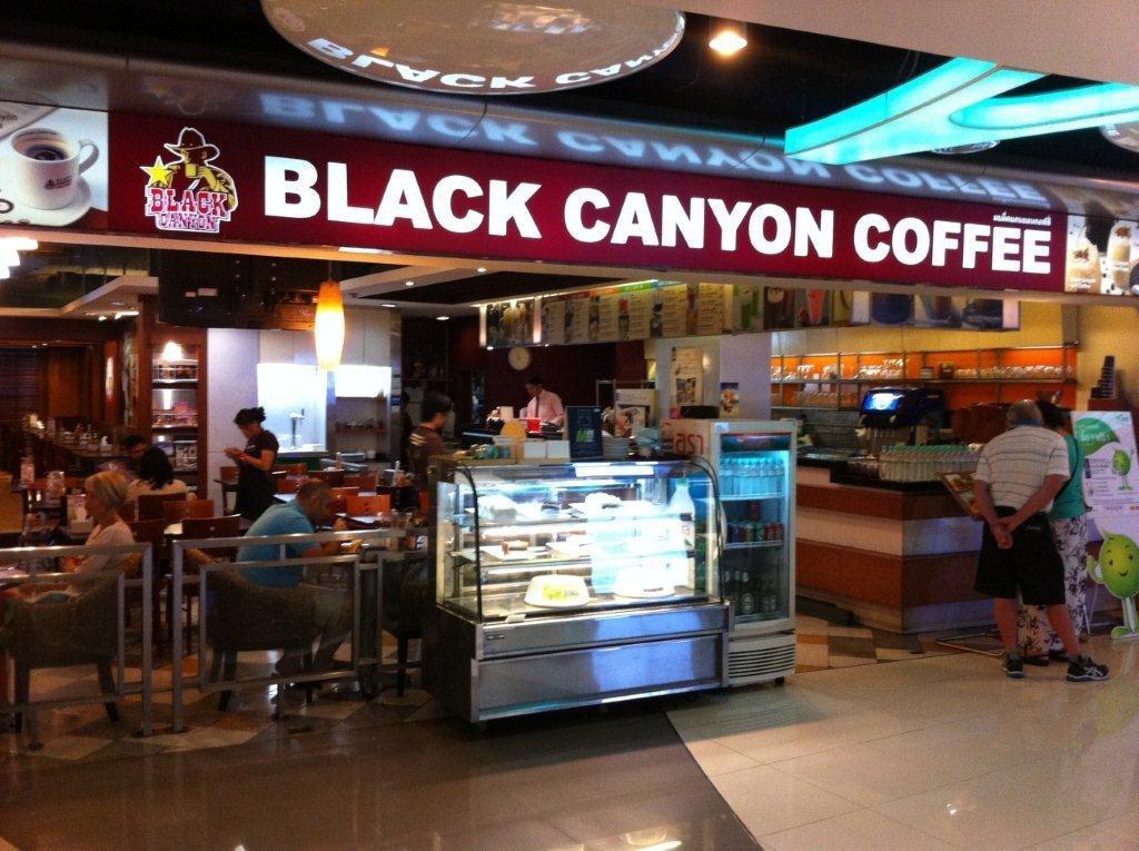 Black Canyon Coffee Пхукет Таиланд