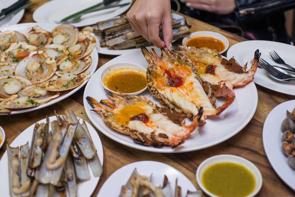 Savoey Seafood Патонг морепродукты Пхукет