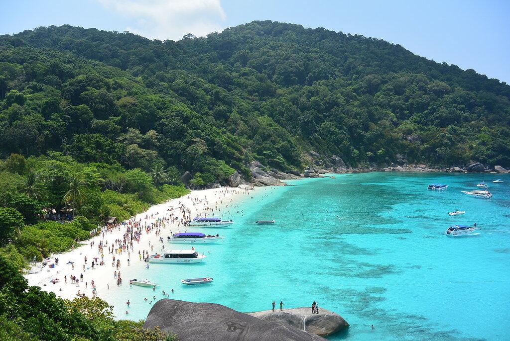 Пляж Таиланд Симиланские острова