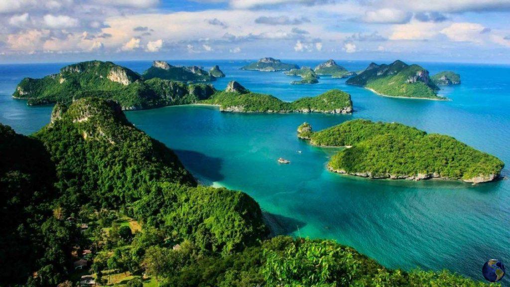 Национальный морской парк Анг Тхонг