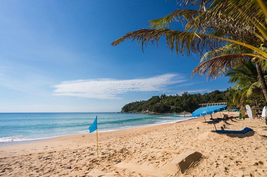 Пляж Карон Таиланд