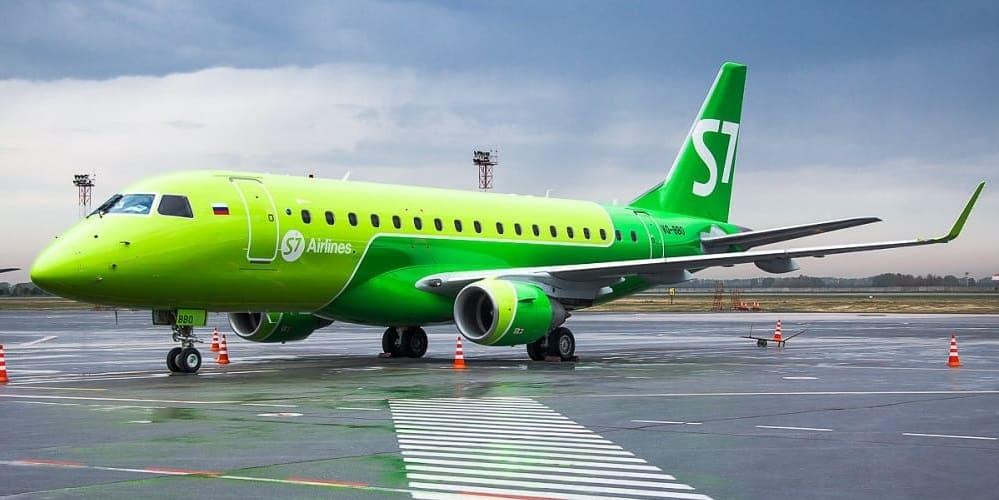 Самолет авиакомпании S7Airlines